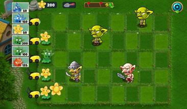 Plants vs Goblins